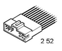 KIA SEPHIA (9/95->) - CLARUS - SHUMA - SPORTAGE (99->)                                          - nahrazuje adaptér 2.52.098