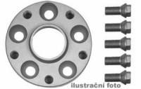 HR podložky pod kola (1pár) KIA Pride rozteč 114,3mm 4 otvory stř.náboj 59,5mm -šířka 1podložky 25mm /sada obsahuje montážní materiál (šrouby, matice)