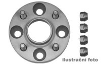 HR podložky pod kola (1pár) KIA Sephia rozteč 100mm 4 otvory stř.náboj 56,1mm -šířka 1podložky 25mm /sada obsahuje montážní materiál (šrouby, matice)