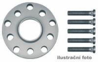 HR podložky pod kola (1pár) KIA Clarus + Credos + Joice rozteč 114,3mm 4 otvory stř.náboj 67,1mm -šířka 1podložky 15mm /sada obsahuje montážní materiál (šrouby, matice)